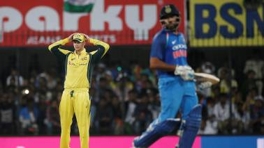 IND vs AUS 2nd T20I: Australia beats India by eight wickets, level series 1-1