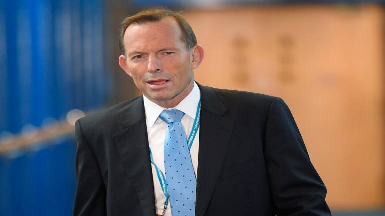Former Australian PM Tony Abbott says climate change is 'probably doing good' to Earth