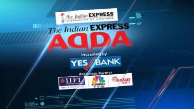 Express Adda: Vijay Rupani's 1-year as Gujarat CM