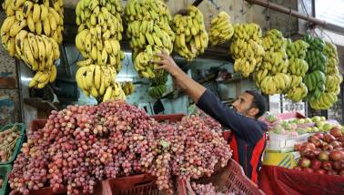 Retail inflation in October accelerates at 3.58% on rising food prices