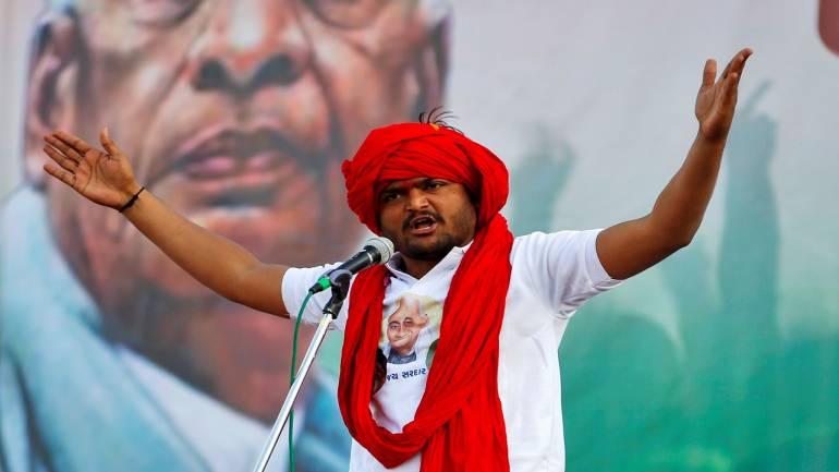 Gujarat govt withdraws case against Hardik Patel for 'insulting' tri-colour withdrawn