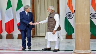 India, Italy vow to combat terror, boost trade; ink 6 pacts