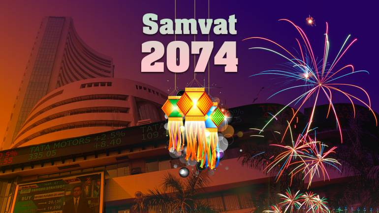 Image result for Muhurat buying and selling session: Markets begin Samvat 2074
