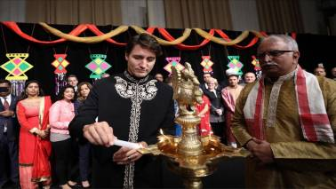 "What outraged Twitter in Justin Trudeau's ""Diwali Mubarak"" wishes"