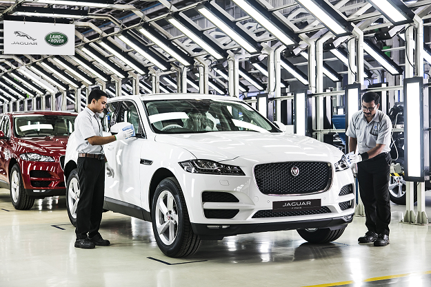 02_Locally Manufactured F-PACE at Pune Plant