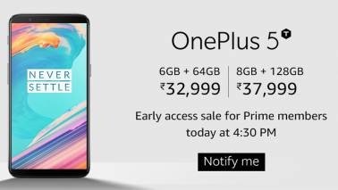 OnePlus 5T goes on sale: Everything you need to know