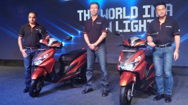 Honda readies city slicker Grazia automatic scooter