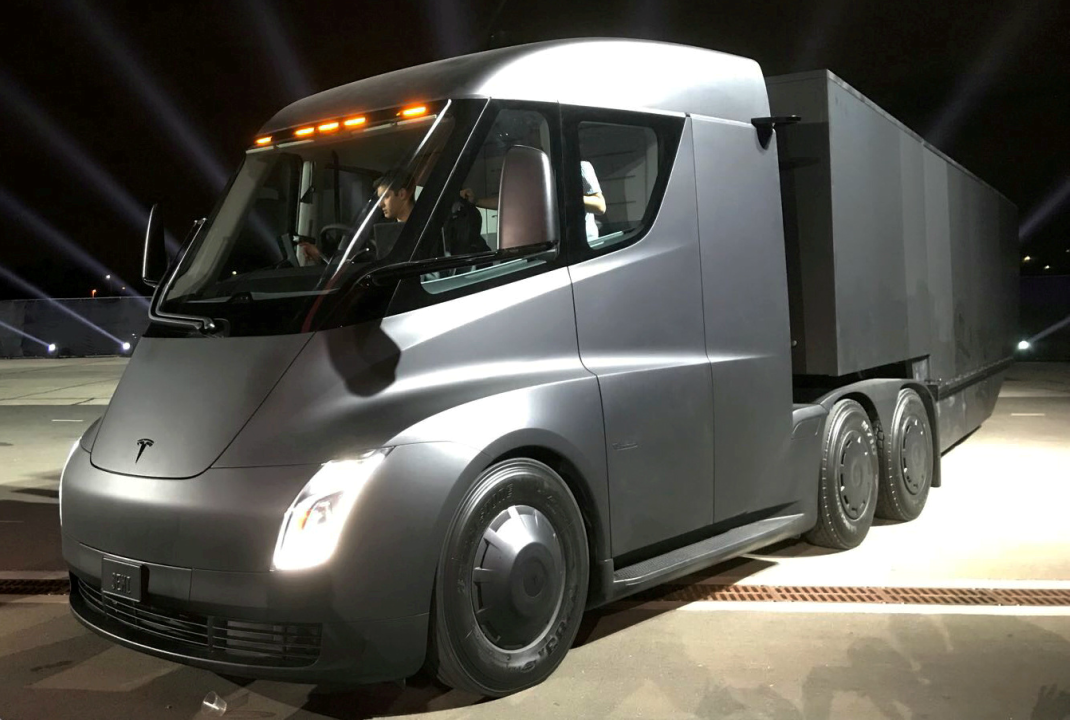 Tesla's Elon Musk unveils Roadster, electric truck – here's the first look