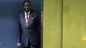 Robert Mugabe ousted as ruling party chief as end nears