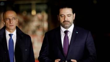 PM Saad Hariri returns to Lebanon after shocking resignation