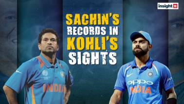 Sachin's records in Kohli's sights