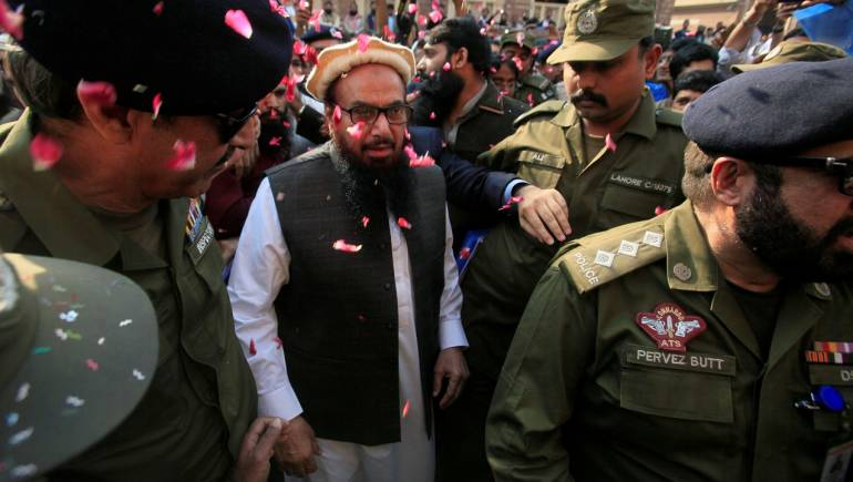 India expresses anger over 26/11 mastermind Hafiz Saeed's release