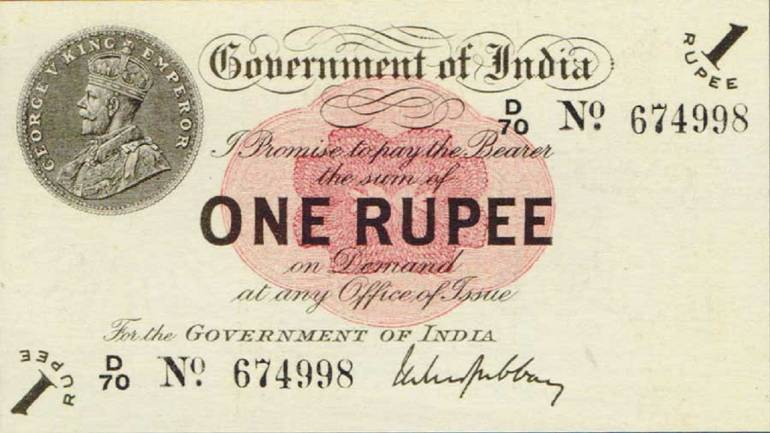 Looking back at 100 years of Re 1 currency note
