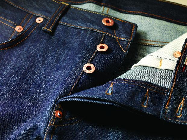 Recognised the world over for their minimalistic, understated style and comfortable, flattering fits, Harry and Pearl, remain international bestsellers. Harry and Pearl possess copper buttons with antique finish, classic arcuate on the back pockets, busted our seam with red overlock stitching or orange selvage and iconic red tab and branded rivets. Identify the brand which has its denim named Harry & Pearl?