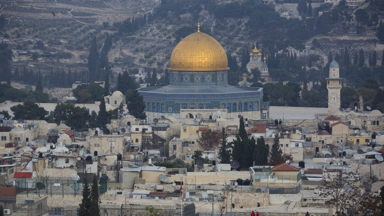 A view of Jerusalem's old city. US officials have said that President Donald Trump may recognize Jerusalem as Israel's capital this week as a way to offset his likely decision to delay his campaign promise of moving the US Embassy there. Trump's point-man on the Middle East, son-in-law Jared Kushner, later said the president hasn't decided yet what steps to take. (PTI)