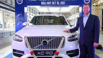 Volvo Cars looking to double market share, add more products to Bengaluru assembly line