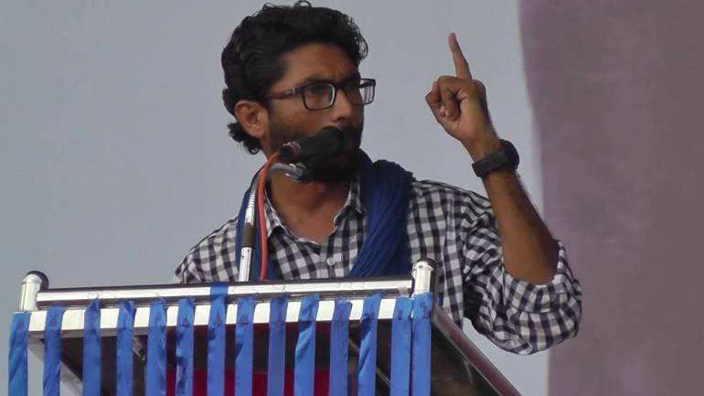 I am being targetted by BJP: Mevani