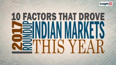 Markets In 2017 - 10 Factors That Drove Indian Indices This Year