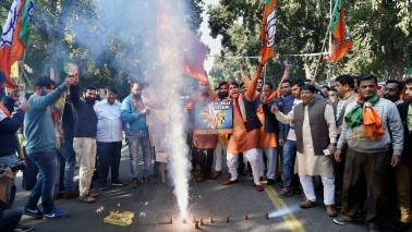 West Bengal BJP celebrates party victory in Gujarat and Himachal
