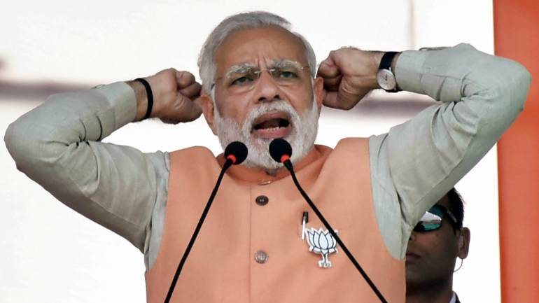 NPA problem is the biggest scam of UPA government : Modi