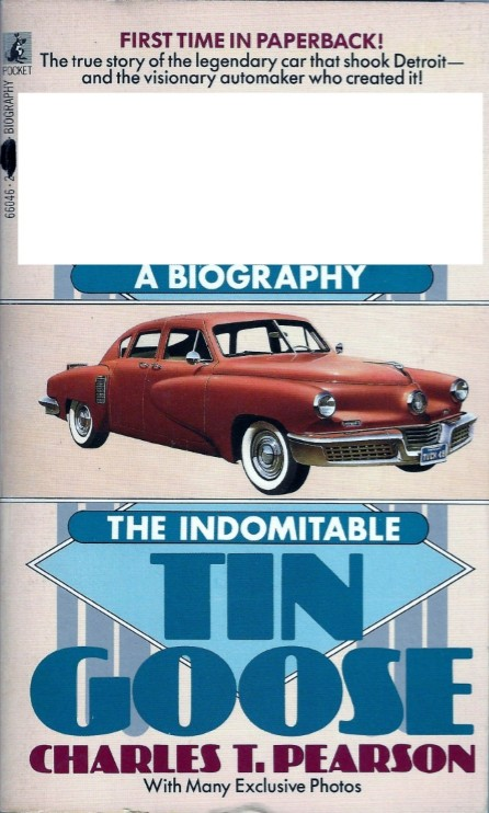 The picture of the book shown belongs to a person who shook the automobile industry of America. He was portrayed on screen by Jeff Bridges in a 1988 movie directed by Francis Ford Coppola. Identify the person?