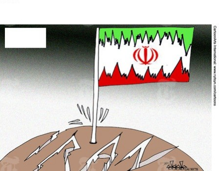 Which country is depicted in the cartoon?