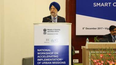 Expect some smart cities to be ready by June next year, says Hardeep Puri