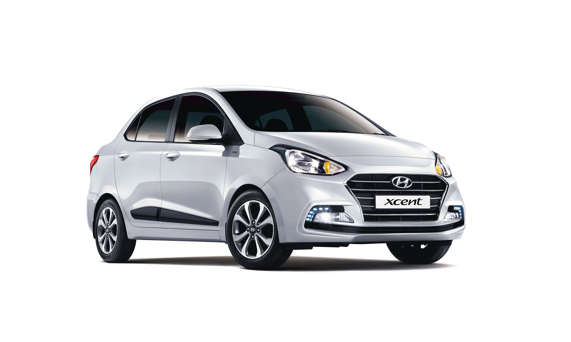 To further strengthen its hold over the compact sedan segment Hyundai launched the Xcent. Maruti Dzire and Tata Tigor are its competition