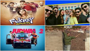 Comedies heal an ailing film industry in 2017 as Golmaal Again leads the laughs