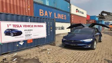Here's a look at the 'first Tesla car in India' that a Mumbai enthusiast imported