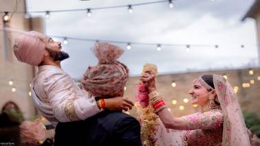Report says Anushka Sharma and Virat Kohli will auction wedding photos for charity