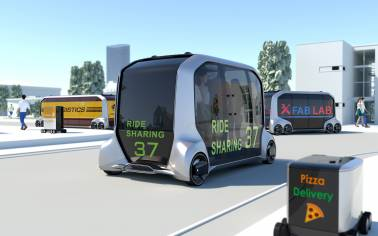 Market on wheels — Toyota has a future where the bazaar drives to you