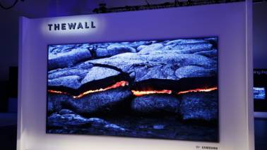 Samsung unveils 'The Wall', a modular TV with a 146-inch wide screen at CES 2018