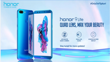 Honor 9 Lite with quad-cameras to debut in India on Jan 17; will be Flipkart exclusive