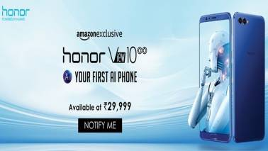 Huawei Honor V10, pegged as 'True AI Phone', goes on sale in India at Rs 29,999