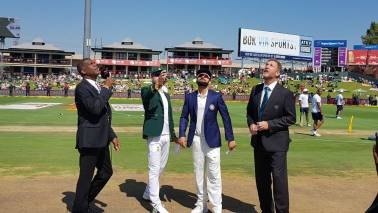 India vs South Africa: Host to bat first in second Test