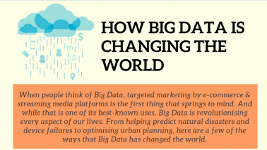 How big data is changing the world