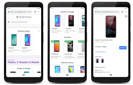 Google launches shopping website in India - Moneycontrol com