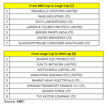 Lucky 7! Companies that jumped into large-cap category from