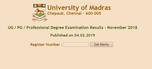 Madras University UG, PG results declared: Direct link to check on