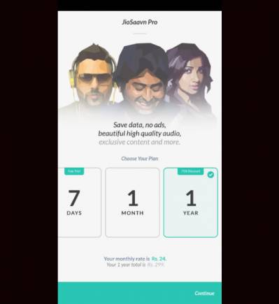 JioSaavn, Gaana slash annual subscription prices by 70% to