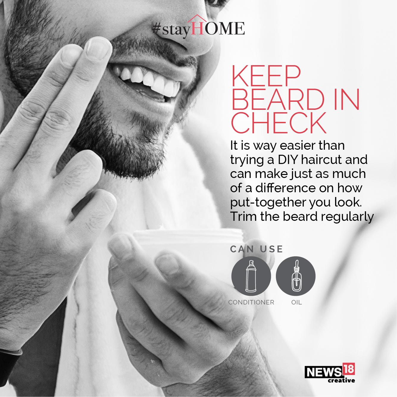 Tip 4 Keep beard in check (Image: News18 Creative)
