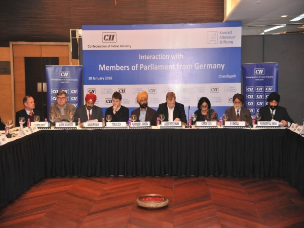 CII - Interaction with Members of Parliment from Germany