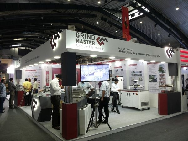 Grind Master Machines Ltd @ IMTEX 2016
