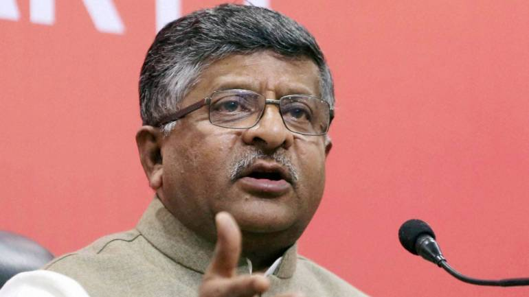 Don't link Aadhaar with voter IDs, says Ravi Shankar Prasad