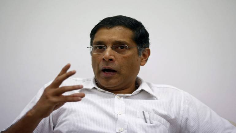 Why stock market is going up and economy is going down: Ex-CEA Arvind Subramanian - Moneycontrol.com thumbnail
