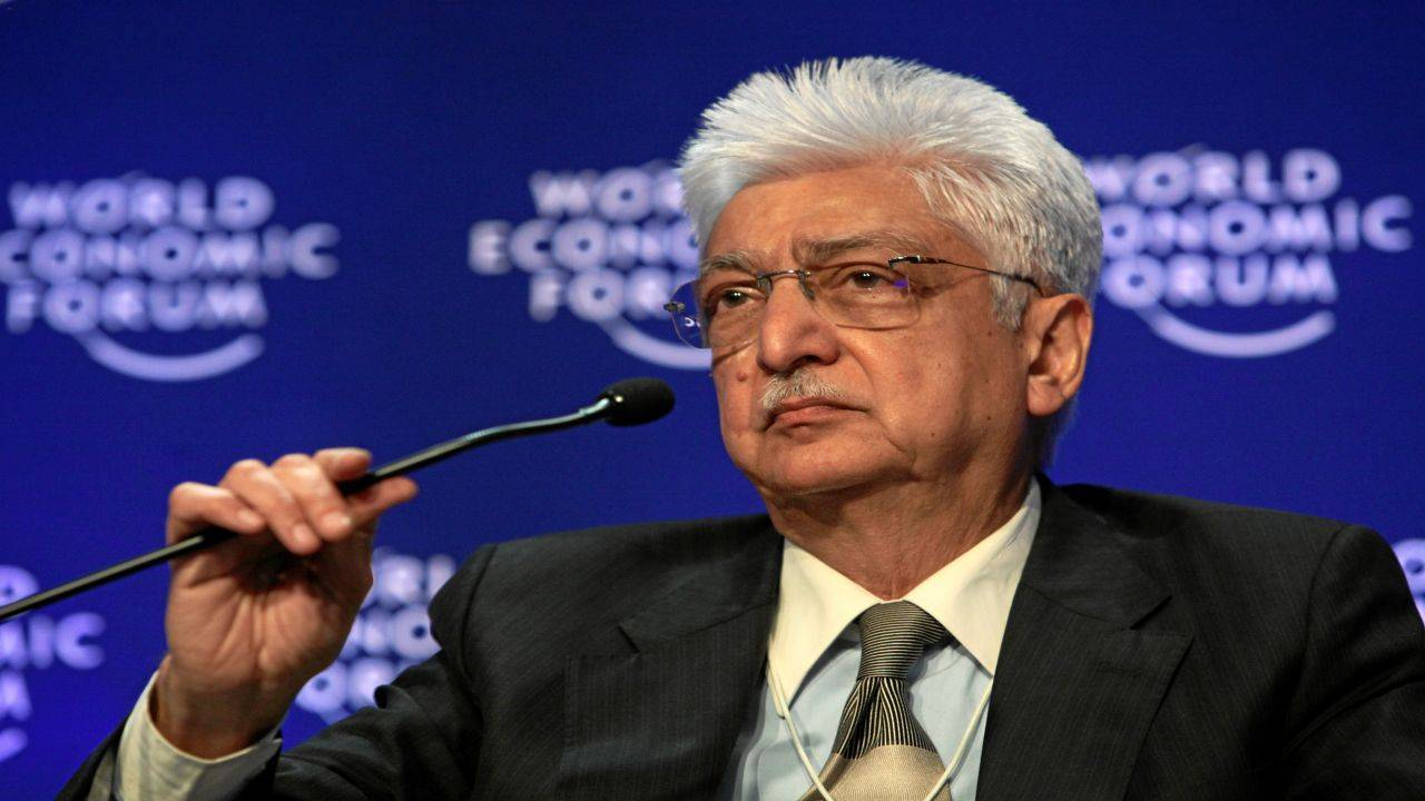 No. 4 | Azim Premji | Chairman, Wipro | Net worth: Rs 96,100 crore (Image: Reuters)