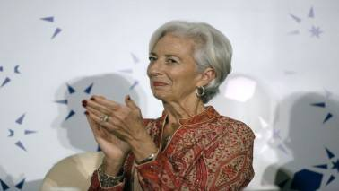 """IMF's Lagarde: Growth strengthens but """"wrong"""" policies may halt it"""