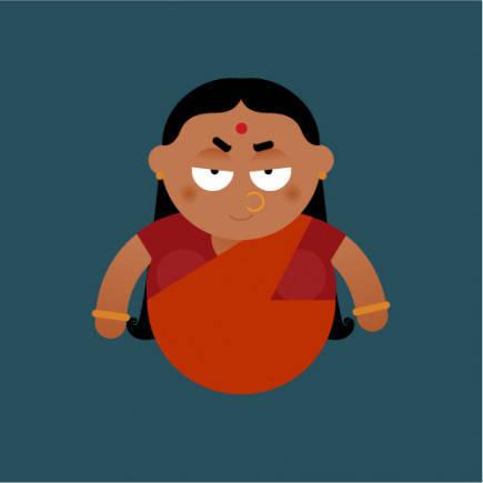 Frustrated, Hiranyakashyap finally turned to his sister Holika