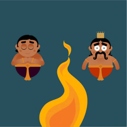 Thus, Holi marks the victory of good over evil, deriving its name from Holika